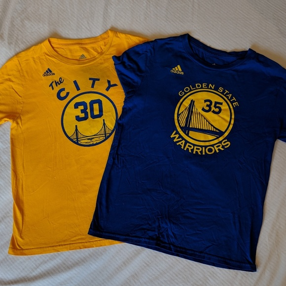 new concept 48b60 877f1 Steph Curry Kevin Durant NBA Jersey Shirt LOT
